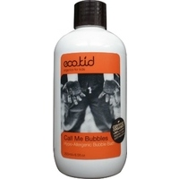eco.kid call me bubbles bubble bath - vannas putas, 250ml