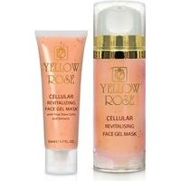 Yellow Rose Cellular Revitalizing Face Gel Mask - Anti-age sejas gēla maska ar ābolu cilmes šūnām, 100ml