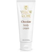 Yellow Rose Chocolate Body Cream - Pretcelulīta šokolādes krēms ķermenim, 250ml