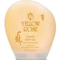 Yellow Rose Ginger Body Gel With Gold and Silk - sildošs pretcelulīta gēls ar 23K Zeltu un Zīdu, 250ml