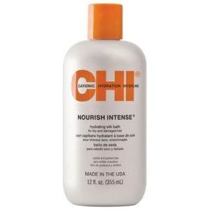 CHI Nourish Intense Hydrating Silk Bath - Bagātīgais krēmveida šampūns, 355 ml