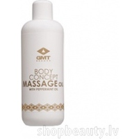 GMT Beauty Massage Oil with peppermint oil, 500ml