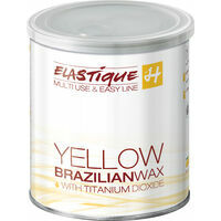 Holiday Elastique Yellow Brazilian wax with titanium dioxide, 800ml