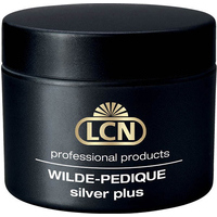 LCN WILDE-PEDIQUE silver plus  (clear-pink-opak-pastel), 10ml - Silver plus kāju nagu gēls (dažādas krāsas) 10ml