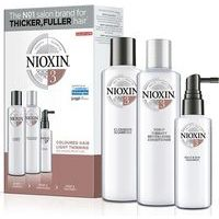 Nioxin SYS 3 Trialkit - System 3 amplifies hair texture and restores moisture balance (300+300+100)
