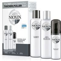 Nioxin System 2 delivers denser-looking hair while strenghtening against damage (300+300+100)