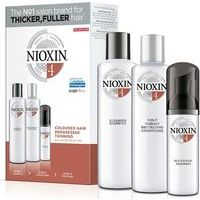 Nioxin System 4 delivers denser-looking hair and restores moisture balance (300+300+100)