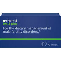 Orthomol Fertil Plus Caps N30 - Important nutrients for sperm quality