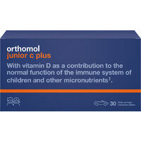 Orthomol Immun Junior Chewable Tablets Mandarin Orange N30