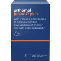 Orthomol junior Omega plus N30 - Brain power for bright minds