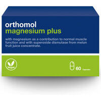 Orthomol Magnesium Plus N60 - Magnesium with cantaloupe melon for extra benefits