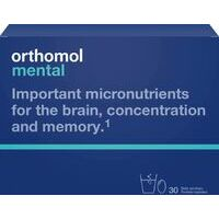 Orthomol Mental N30 - Targeted support for mental performance