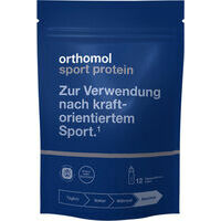 Orthomol Sport protein (N3 / N16) - Important nutrients for regeneration after strength sports