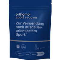 Orthomol Sport recover (N3 / N16) - Important nutrients for regeneration after endurance sports