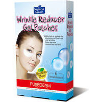 Purederm Wrinkle Reducer Gel Patches, 6 pcs